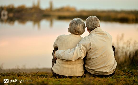 Закохана пара похилого віку